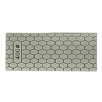 Ququack 400/1000グリッツ薄いダイヤモンドシャープストーンナイフダイヤモンドプレート砥石ナイフシャープナーグラインダーナイフホーニングツールグレー400グリット