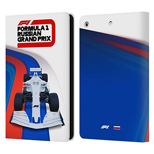 Official Formula 1 F1 Russia Grand Prix World Championship 2 Leather Book Wallet Case Cover Compatible For Apple iPad Air (2013)