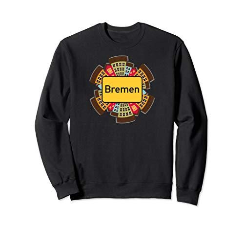 """Ortsschild \""""Bremen\"""" - Lustiges Stadt-Design Sweatshirt"""