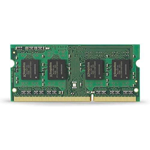 Kingston KVR16LS11/8 Memoria RAM da 8 GB, 1600 MHz, DDR3L, Non-ECC CL11 SODIMM, 1.35 V, 204-pin