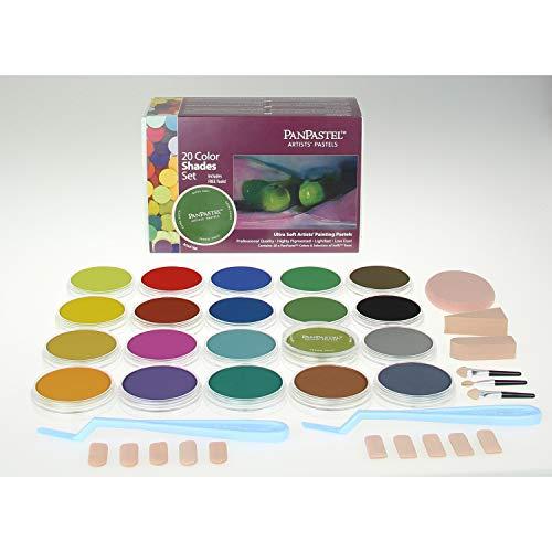 PanPastel Pastels pour artistes 20 couleurs