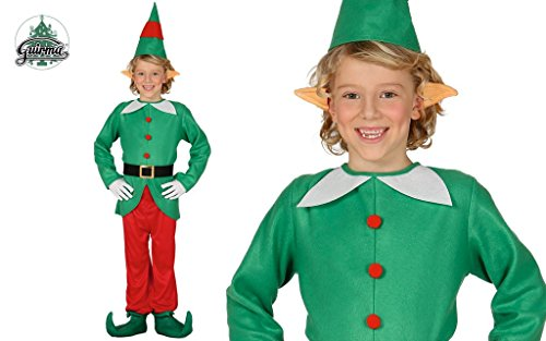 Costume d'elfe des enfants 7-9 ans
