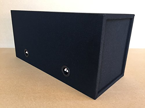 """Custom Ported/Vented Sub Box Subwoofer Enclosure for 2 12"""" Rockford Fosgate T1 Subs - 40 Hz"""