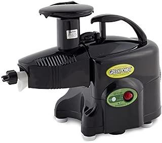 Green Power KPE1304 ++ 220VOLT ++ Twin Gear Juicer Wheatgrass, Vegetable & Fruit Juicer BLACK COLOR