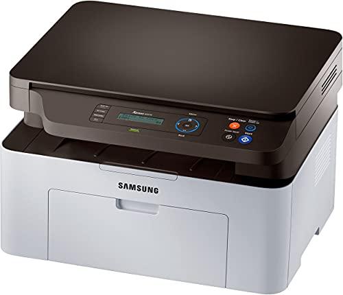 Samsung SL-M2070 Xpress, Stampante multifunzione laser (stampa, copia, scansione), Bianco/Nero (Ricondizionato)