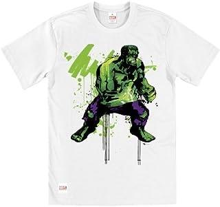 Marvel Comics producto oficial de increíble Hulk Addict T-de manga corta de mujer