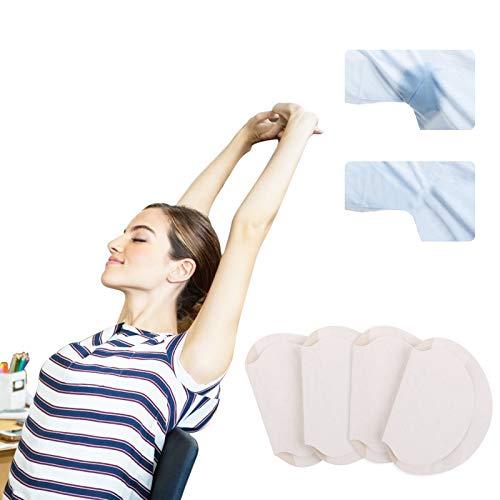 AirSMall 80 PCS Coussinet anti Auréoles,Patchs Anti Transpiration Jetables Protège Aisselles Invisible Confortable contre l'hyperhidros pour Femmes Homme Santé d'été Emballé Individuellement