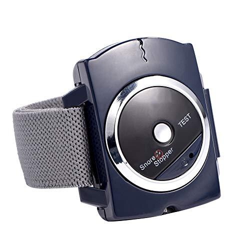 Dispositivo Antirronquidos, Pulsera Antironquidos Reloj de pulsera para ronquidos Reloj de pulsera con tapón de ronquido inteligente por infrarrojos mejor solución para la ayuda contra los ronquidos