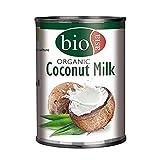 Leche de coco orgánica - 400 ml - pack de 2