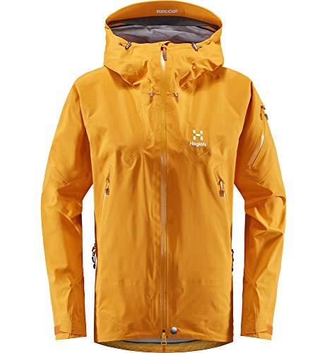 Haglöfs Windbreaker Frauen Windbreaker ROC Spire Jacket Women wasserdicht, Winddicht, atmungsaktiv Extra Small Desert Yellow S S