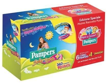 Pampers Sole e Luna 360pieza(s) toallita húmeda para bebé - Toallitas húmedas para bebé (360 pieza(s), Caja)