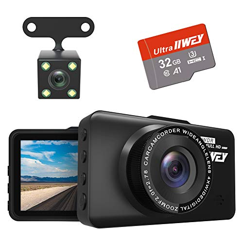 Dash Cam Front and Rear Camera F...