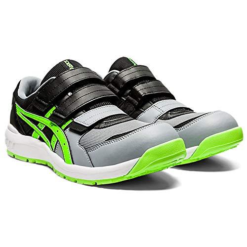 安全靴 アシックス asics スニーカー ウィンジョブ FCP205 リーガル ワーキングシューズ セーフティシューズ 25.0 2ブラック×フラッシュグリーン
