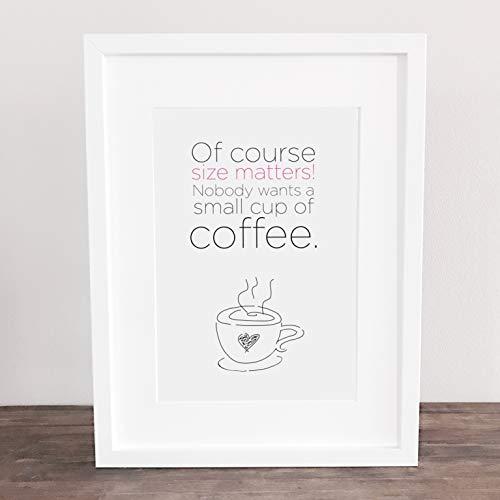 Bild, Deko, Poster, Kunstdruck, Kaffee, coffee, Guten Morgen