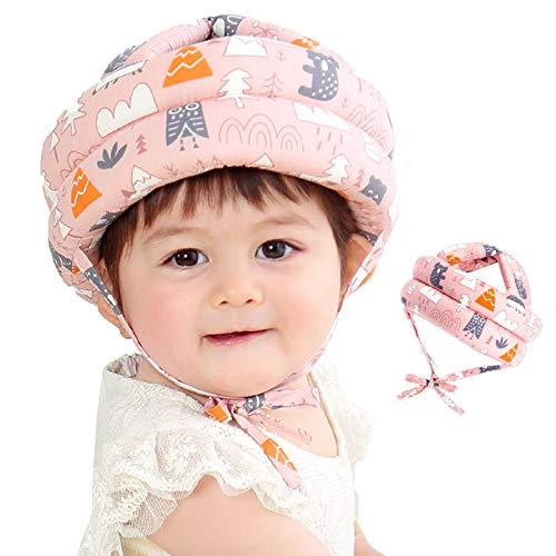 LdawyDE Baby Helm Baby Kopfschutz Schutzhelm Kopfschutzmütze Kinder Helme Säuglingskleinkind Verstellbarer Helm für Kleinkinder Lerne Laufen