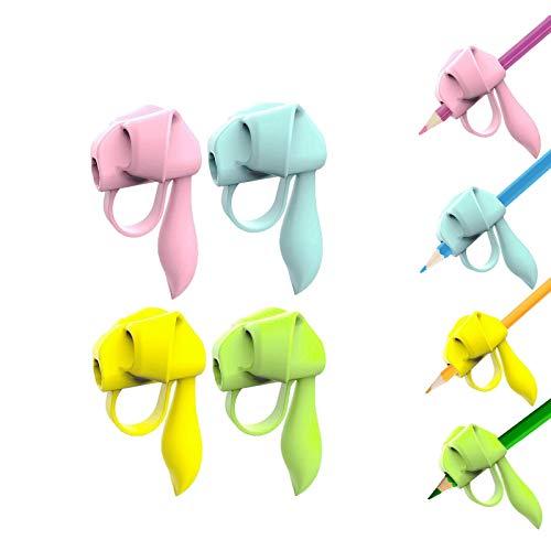 Corrector de escritura para niños,Pencil grip para soporte lapiz corregir postura,ayuda para escribir con lapiz para niños estudiantes 8 piezas/set