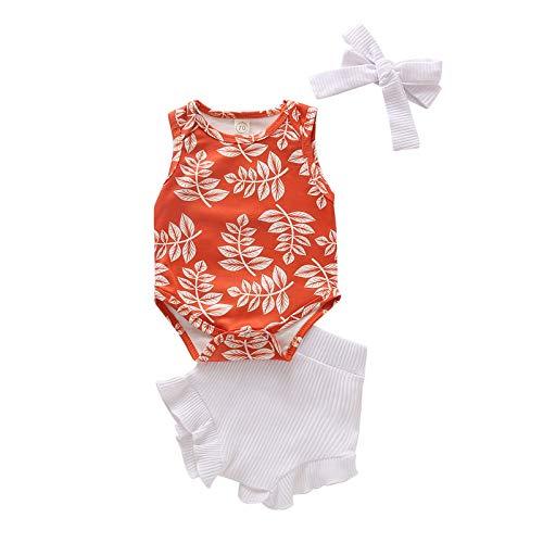 Julhold Conjunto de trajes y pantalones cortos con volantes y diseño floral