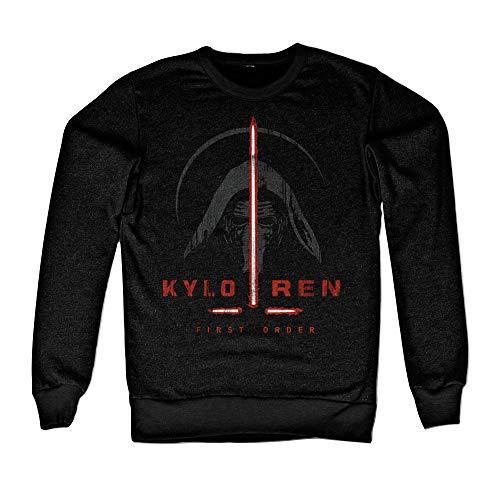 Officiellement Marchandises sous Licence Kylo Ren First Order Sweatshirt (Noir), Large