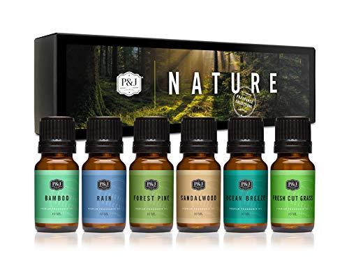 P&J Trading Nature Set of 6 Premium Grade Fragrance Oils