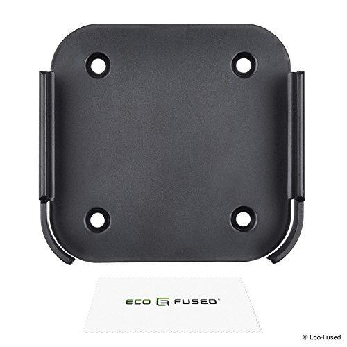Eco-Fused Wandhalterung Kompatibel mit Apple Airport Express [2. Generation] und Apple TV [2. + 3. Generation] - Halterungsrahmen - Perfekte Passform - Einfache Installation - Einfach anbringen