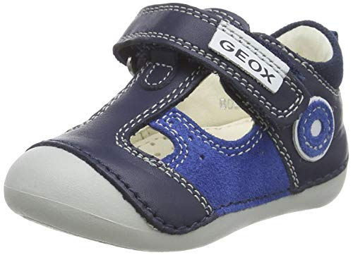Geox Baby Jungen B TUTIM A Sandalen, Blau (Navy/Royal C4226), 23 EU