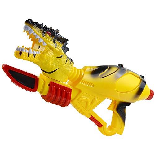 Dinosaurio de la simulación de lucha pistola de agua de juguete de los niños del verano del arma de agua de agua de gran capacidad Artefacto gama mucho Hijos Adultos pistola de agua multi-ángulo de la