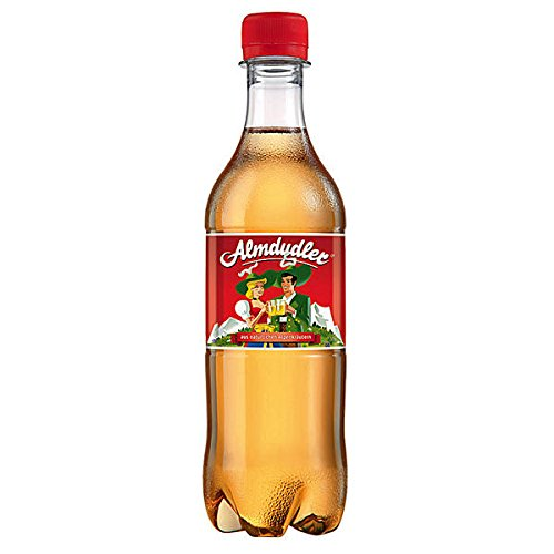 24 Flaschen a 0,5L Almdudler Kräuterlimonade inc.6,00€ EINWEG Pfand Limonade Alpenkräuterlimonadees Getränk inc. 6,00€ Pfand