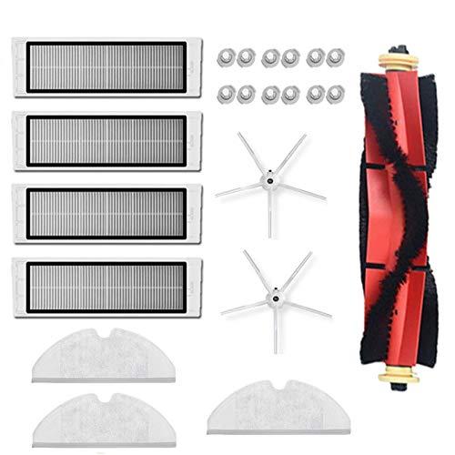 Nrpfell para S60 S65 S6 S5 MAX Accesorios Piezas de Aspiradora Filtro HEPA Lavable Cepillo Principal Cepillo Lateral