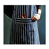 KICCOLY Delantales Cocinero Cocinar Paño Apron Mujeres Hombre sin Mangas Delantal Cocina Hornear...