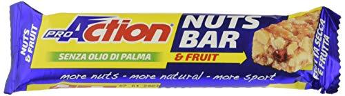 ProAction Nuts Bar (frutta, confezione da 30 barrette da 30 g)