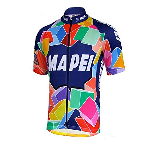 New Men Short Sleeve Cycling Jersey ropa Ciclismo go pro Summer Cycling Clothing MTB Road Mountain Bike Jersey (Style Photos,XS)