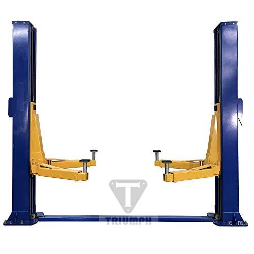 TRIUMPH NT-15 15000Lbs Two Post Floor Plate Auto Lift Car Truck Lift Hoist Base...