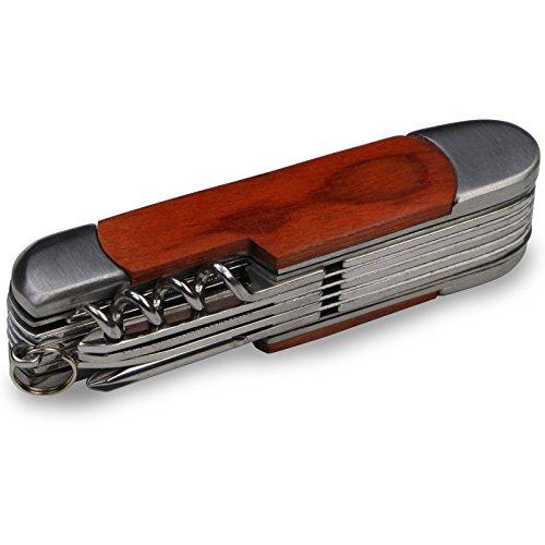 BB Sport Multifunktions-Messer Taschenmesser mit 12 Funktionen