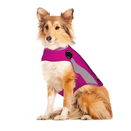 Thundershirt Beruhigungsweste, Hundemantel für ängstliche Hunde, Größe L, Polo pink, 99024