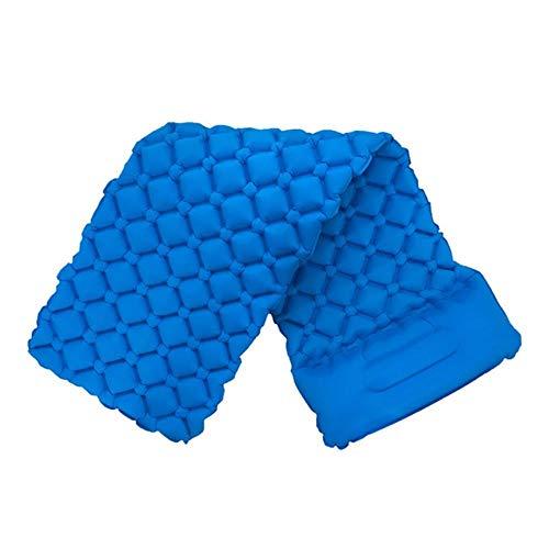 WXCL Dimensioni 190 * 56 cm Materasso Gonfiabile Campeggio da Campeggio Gonfiabile Cuscino per Cuscino da Viaggio Cuscino Gonfiabile Divano da Spiaggia, Azzurro