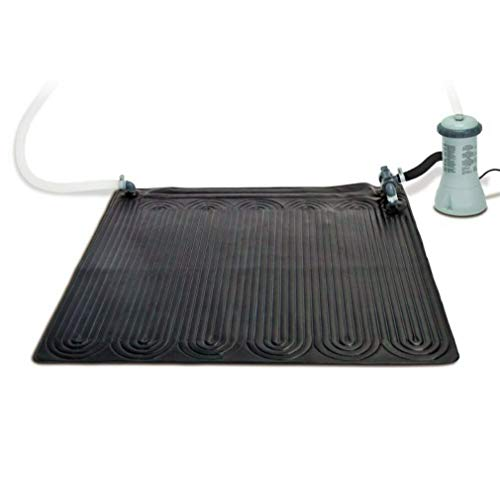 Best Review Of CRR Solar Water Heater Mat Above Ground Swimming Pool - Black