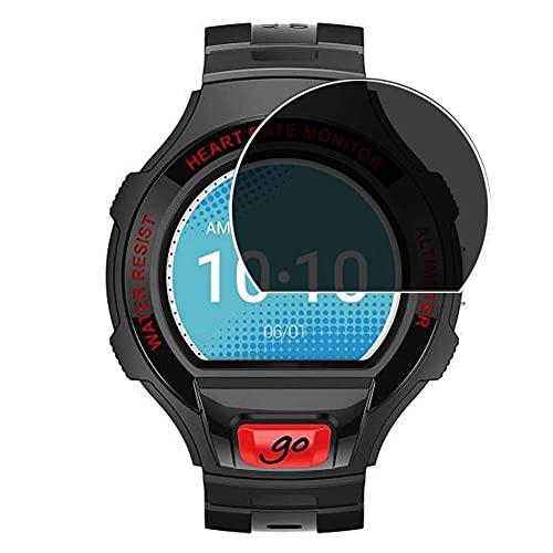 Vaxson Protector de Pantalla de Privacidad, compatible con Alcatel One Touch Go Watch [no vidrio templado] TPU Película Protectora Anti Espía
