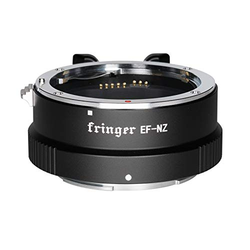 Fringer EF-NZ for Canon to Nikon Lens Adapter Auto Focus Adapter Ring Compatible with Canon EF Lens to Nikon Z Mount Z5 Z6 Z7 Z50 Cameras Adapters