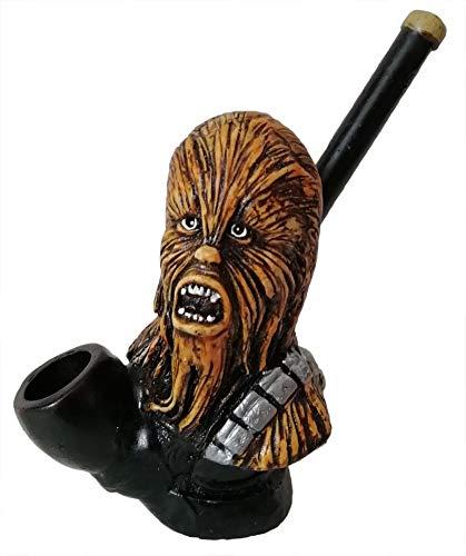 Collectible Decorative Chewbaca Figurine Tobacco Pipe