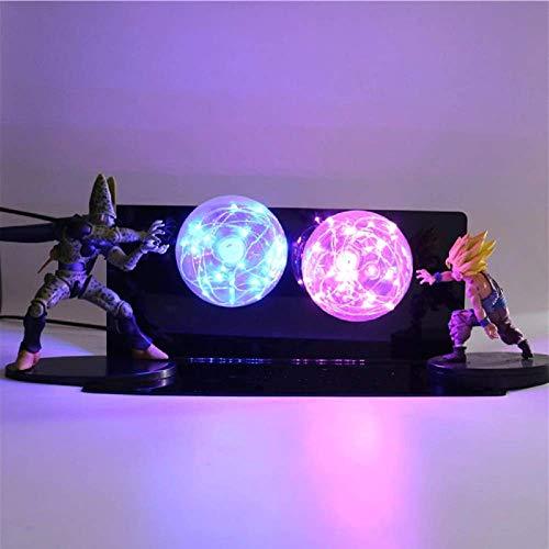 KAKALIN Dragon Ball Z Gohan & Cell Power Up Led Light Lamp Whole Set Gift Toys for Xmas image