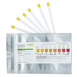 SimplexHealth-Trinkwasser-Wasserhrtetest-HrteGesamthrte-10-Teststreifen-zuverlssige-und-schnelle-Ergebniss