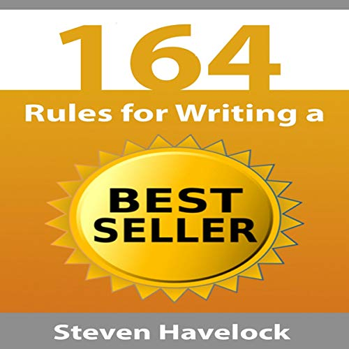 164 Rules for Writing a Best Seller audiobook cover art