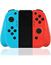 Maegoo Mandos para Switch Inalámbrico, Switch Mando Bluetooth Joypad Gamepad Joysticks De Reemplazo Joypad con Doble Choque Vibración y Giroscopio de 6 Ejes Turbo
