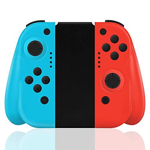 Maegoo Controller per Switch, Switch Controller Wireless Bluetooth Joypad Gamepad Joystick con Doppio Shock Vibrazione e Giroscopio a 6 Assi Turbo