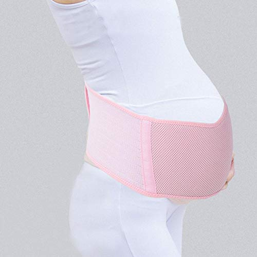 FOLOSAFENAR Longitud del cinturón de Vientre posparto 43.31 Pulgadas, para Evitar tensiones en la Espalda(Pink)