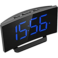 Mpow 5 Curved LED Digital Alarm Clock