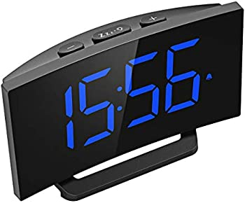 Mpow 5 Curved LED Digital Alarm Clock