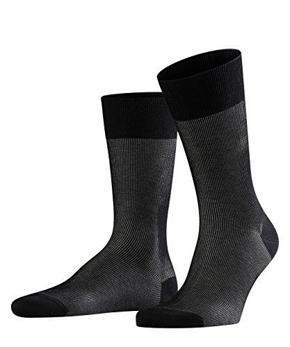 FALKE Fine Shadow Chaussettes Homme Noir (Black 3000) 39/40 (Taille fabricant:39-40)