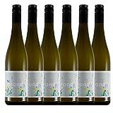 Weinhaus Brand   Bio Riesling trocken (2020er)   6 x 0,75 l Weißwein   Riesling vegan   12,0% von 2020   Weisswein   Pfalz Wein   Qualitätswein   Bio-Siegel DE-ÖKO-006   zum Verschenken