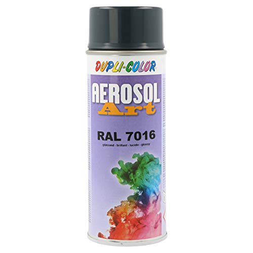 Dupli-Color 741289 Aerosol Art Ral 7016 glänzend 400 ml